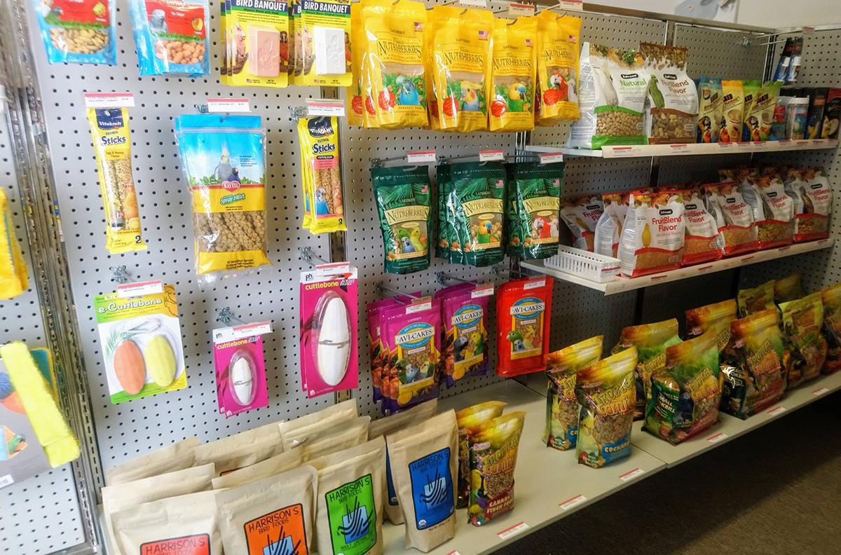 Bird Food & Supplies