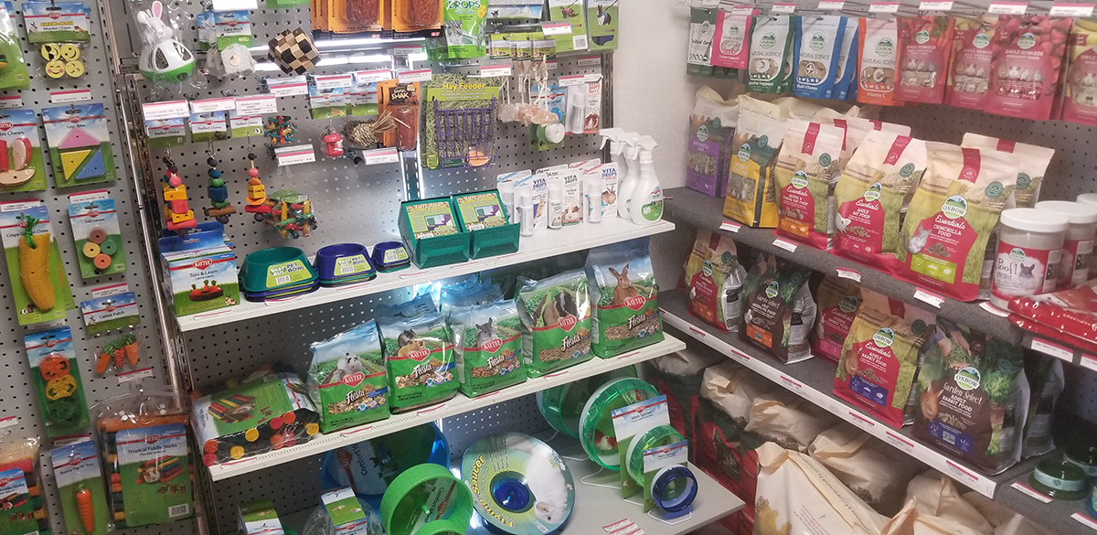 biggest selection of small pet supplies in the Northwoods